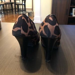 Mossimo Supply Co. Shoes - Animal print heels